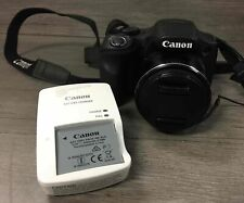Canon PowerShot SX530 HS DSLR 16.0 MP Digital Camera w/ Battery and Wall Charger