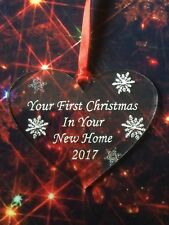 First 1st Christmas In Our New Home Xmas Tree Decoration Gift