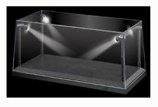 1:18 Display Case With LED Lights Black Base for Diecast Models - KC9920