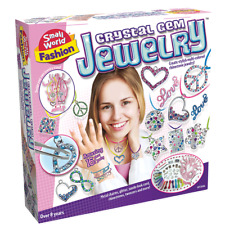 Crystal Gem Jewelry Making Kit - Small World Toys