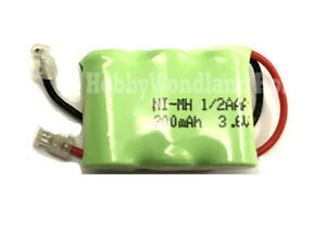 3.6V Home Phone Ni-MH AAA 1/2 300mAh 3-Cell Recharge Battery Pack Universal plug