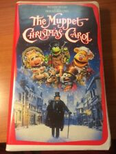 The Muppet Christmas Carol (VHS, CLAMSHELL) Walt Disney, Jim Henson