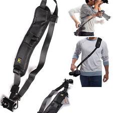 K Single Shoulder Sling Belt Strap For DSLR Digital SLR Camera Quick Rapid Base