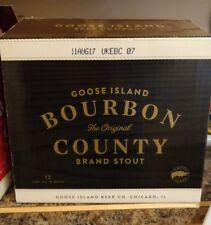 Goose Island Bourbon County Stout  2017 Empty Case