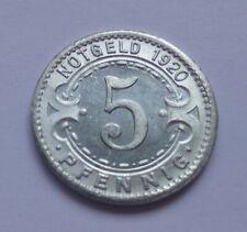 Notgeld: Stadt Witten 5 Pfennig 1920 / Germany, Witten 5 Pfennig 1920, War money
