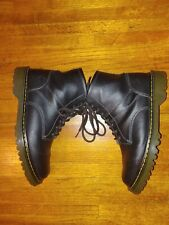 Dr Doc Martens Ashfeld Boots Size 11 M Brown Pebbled Leather AW004