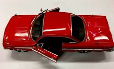 JADA Fast And Furious 8 Dom's 1961 Chevrolet Impala 1:24 Red Diecast Car 98430