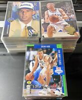 HUGE 1994-1995 Jason Kidd Lot Of 249 Mostly Rookies Upper Deck Flair Topps + TI