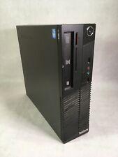 Lenovo ThinkCentre M71e SFF Desktop PC Intel Core i3 CPU 4GB 160GB Windows 10