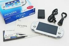 【Excellent】Sony PlayStation PS Vita Crystal White PCH-1100 AB02 DHL Free Ship