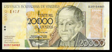 World Paper Money - Venezuela 20000 Bolivares 2002 Series B @ Vf