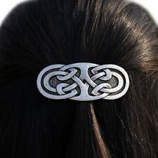 Vintage Vikings Irish Barrette Celtics Knots Large French Barrette Hair Clip