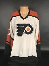 Vintage Philadelphia Flyers John LeClair CCM Jersey Made In USA Size L