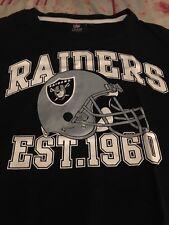 NFL LA Raiders Est T Shirt Large Derek Carr/Marshawn Lynch NFL Team Apparel