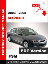 mazda 3 service manual in automotive ebay rh ebay ca 2007 mazda 3 repair manual pdf 2006 mazda 3 repair manual pdf