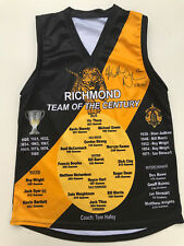 RICHMOND TEAM OF THE CENTURY Limited Edition JUMPER GUERNSEY Signed Richo 12
