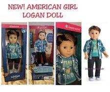 American Girl LOGAN EVERETT DOLL FIRST BOY DOLL BAND MATE NEW IN BOX