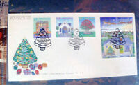 NEW ZEALAND CHRISTMAS ISSUE SET OF 6  1992 FIRST DAY COVER