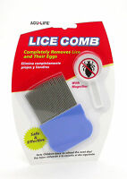 LICE COMB 100% EFFECTIVE INCLUDING MAGNIFIER - UK SELLER