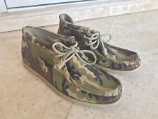 Jeffrey New York x Sperry Top Sider Camouflage Chukkas Size 9.5