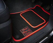 Personalised/Customised Car Mats - Fitted To Your Car - Colour & Logo Choices!