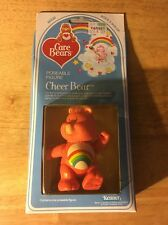 Care Bears Cheer Bear Poseable Figure!! New in Box!!  1982!!