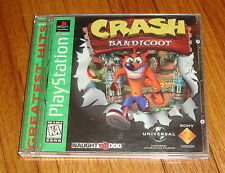 Crash Bandicoot Sony Playstation PS1 Complete