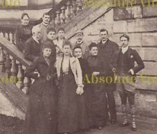 FASHION PHOTO VICTORIAN GROUP NOTE MAN WEARING SHORTS LEGGINGS & TARTAN SOCKS