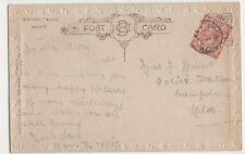 Miss Betty Munt, Police Station, Campden, Gloucestershire 1922 Postcard, B395