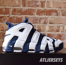 2020 Nike Air More Uptempo Olympic Pippen White Navy 414962-104