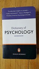 The Penguin Dictionairy of Psychology *2001 Third Edition  P.Reference