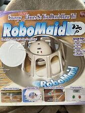 Rare Robomaid Floor Sweeper Machine Cleaner Vacuum Sweeping New Open Box