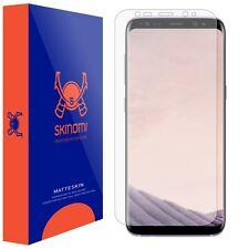 Skinomi (MATTE) Screen Protector For Samsung Galaxy S8 Full Screen MAX COVERAGE