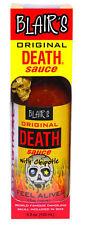 Blair's Original Death Sauce with Skull Key Chain 5oz