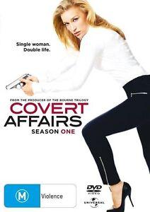 Covert Affairs : Season 1 (DVD, 2011, 3-Disc Set)Excellent Condition