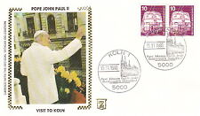 1980 POPE JOHN PAUL II KOLN GERMANY VISIT POSTAL COVER
