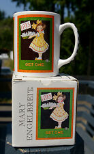 Mary Engelbreit Coffee Mug Lives Get One Inspirational & Cheeky with Box