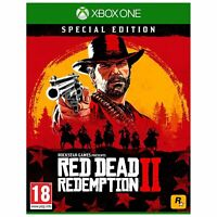 NEW SEALED RED DEAD REDEMPTION 2 RARE UK SPECIAL EDITION XBOX ONE VIDEO GAME