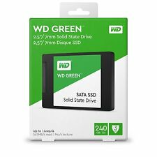 Western Digital SSD Green 240GB 2.5 7mm SATA WD Solid State Drive Memory Disk HD