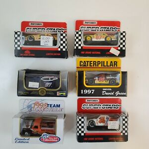 Lot Of 6 Super Stars Collectibles Stock Car Limited Edition Nascar Diecast 1/64