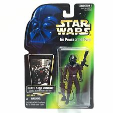 Star Wars POTF2/DEATH STAR GUNNER Action Figure/Kenner 1996/Green PHOTO Card MOC