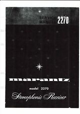 Marantz Service Manual für model 2270