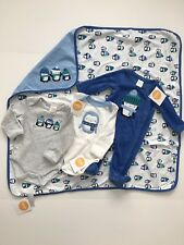 NWT Gymboree Baby Boy Set Lot New Born Size 0-3 Month Penguin Blanket Overall