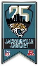 JACKSONVILLE JAGUARS 25TH ANNIVERSARY PIN 1995 - 2019 SEASON NFL FOOTBALL METAL