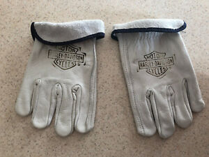 Harley Davidson Branded Leather Gloves XL
