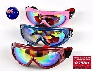 Children Girl Boy Kids UV400 Outdoor Sports Ski Goggles Eye protect Eye Glasses