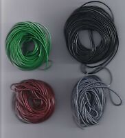 10 meters 1.5MM Waxed Leather Thread Wax Cotton Cord String Strap Neck