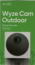 WYZE CAM OUTDOOR Wire-Free Starter Bundle, Security Camera - ON HAND, in stock!