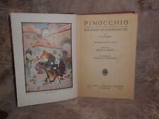 Pinocchio The Story of a Marionette 1923 Illustrated Treasure