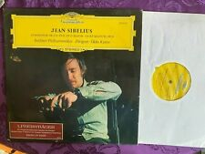 DG STEREO 2530 021 STEREO JEAN SIBELIUS  WITH HYPE STICKER ON LABEL IMORT LP